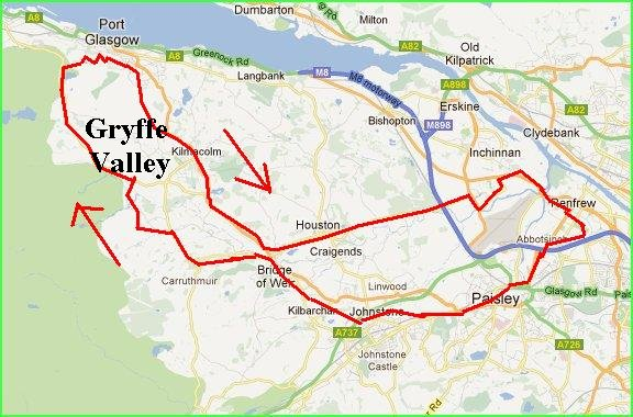 The Gryffe Valley Circuit